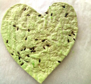Seed Paper Heart